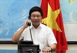 Bộ trưởng Ngoại giao Phạm Bình Minh điện đàm với Ủy viên Quốc vụ Trung Quốc Dương Khiết Trì