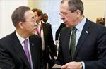 Tổng Thư ký LHQ hội đàm về Ukraine với Ngoại trưởng Nga