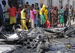 Đánh bom xe ở thủ đô Somalia