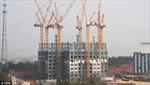 Xây tòa nhà 57 tầng trong 19 ngày