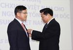 Trao tặng Huân chương Hữu nghị cho nguyên TGĐ Samsung Việt Nam