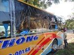 Triệu tập 5 đối tượng trong vụ ném đá xe khách ở Kon Tum