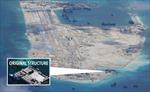 Trung Quốc tạm dừng xây 'đảo nhân tạo' vì bão biển