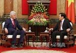 Chủ tịch nước Trương Tấn Sang tiếp nguyên Tổng thống Bill Clinton