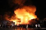 Đốt gas bất cẩn, cháy kho sơn khu công nghiệp tại Vĩnh Phúc