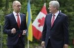 Canada và Ukraine ký FTA