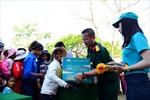 Tặng 19 tấn hàng cho đồng bào Ninh Thuận bị hạn hán
