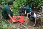 Hà Giang tổ chức truy điệu và chôn cất hài cốt liệt sĩ