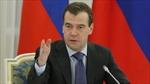 Thủ tướng Medvedev: Nga ủng hộ toàn vẹn lãnh thổ của Ukraine