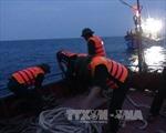 Đưa 31 thuyền viên gặp nạn trên biển về bờ