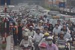 Nhiều công trình trọng điểm gây ùn tắc giao thông