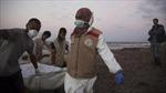 Phát hiện gần 100 thi thể người di cư trên bờ biển Libya