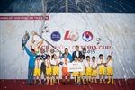 """Kid Star FC năm thứ hai liên tiếp vô địch """"Thách thức Lotteria Cup 2015"""""""
