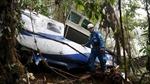 Máy bay lao xuống hiệu bánh ở Colombia