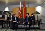 Trung Quốc và Anh ký kết nhiều thỏa thuận hợp tác quan trọng