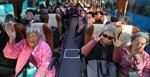Nhóm người Hàn Quốc tới địa điểm đoàn tụ gia đình ở Triều Tiên