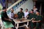 Giữ bình yên biên giới Tây Nam: Gắn kết tình quân dân