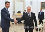 Tổng thống Syria bất ngờ thăm Moskva, cảm ơn Nga không kích IS