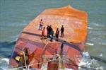 Tàu Hoàng Phúc 18 được lai kéo về Vũng Tàu