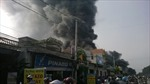 Cháy rụi cửa hàng phụ tùng xe máy trên Quốc lộ 1A