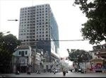 Tòa nhà 8B Lê Trực trong danh sách công khai các trường hợp vi phạm trật tự xây dựng
