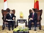Thủ tướng Nguyễn Tấn Dũng tiếp Chủ tịch Thượng viện Nhật Bản