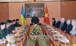 Lãnh đạo Bộ Quốc phòng tiếp Đoàn cựu chiến binh Ukraine