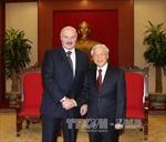 Tổng Bí thư Nguyễn Phú Trọng tiếp Tổng thống Belarus
