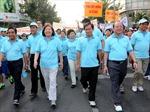 Tacheng tiếp tục đồng hành cùng chương trình đi bộ từ thiện Lawrence  S. Ting