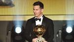 Messi lần thứ 5 giành Quả bóng Vàng