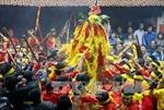 Hạn chế bạo lực trong tục cướp giò hoa tre tại hội Gióng năm nay