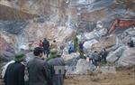 Tìm thấy thi thể một nạn nhân bị mỏ đá vùi lấp