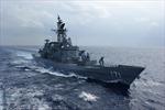 Tàu chiến Nhật Bản thăm Campuchia