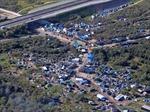 Pháp dỡ bỏ khu lều tạm của người tị nạn tại cảng Calais