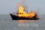 Indonesia tiếp tục đánh chìm tàu nước ngoài đánh cá trái phép