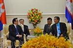 Campuchia tiếp Đặc phái viên Tổng Bí thư Nguyễn Phú Trọng