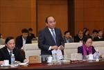 Xem xét dự thảo Báo cáo công tác nhiệm kỳ 2011-2016 của Chính phủ