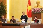 Bế mạc Phiên họp thứ 45 Ủy ban Thường vụ Quốc hội khóa XIII