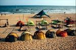 Du lịch cắm trại hút khách đến Bình Thuận