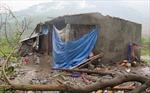 Hình ảnh Lai Châu sau khi gió lốc đi qua