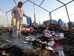 Trại tị nạn gần Thổ Nhĩ Kỳ bị không kích, 28 người thiệt mạng