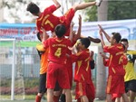 Xây nền móng cho bóng đá học đường Việt Nam