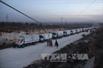 Đoàn xe cứu trợ LHQ tới ngoại ô Damascus
