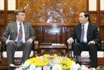 Chủ tịch nước Trần Đại Quang tiếp Đại sứ Australia