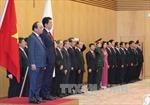 Thủ tướng Nguyễn Xuân Phúc hội đàm với Thủ tướng Shinzo Abe