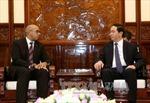 Chủ tịch nước Trần Đại Quang tiếp các Đại sứ Cuba và EU