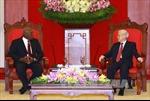 Tổng Bí thư tiếp Đặc phái viên Bí thư thứ nhất ĐCS Cuba