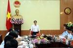 Phó Thủ tướng Vũ Đức Đam làm việc tại tỉnh Thái Nguyên