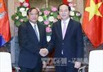 Chủ tịch nước tiếp Ngoại trưởng Campuchia