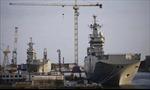 Chiến hạm Mistral cập cảng Ai Cập